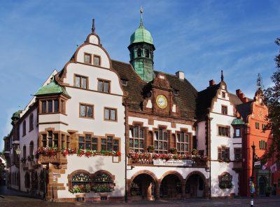 Das neue Rathaus in Freiburg